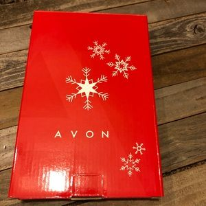 Avon Accents - Avon Holiday Christmas wooden decoration. New